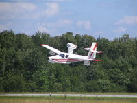 C-FWES @ CYQA - take-off from Muskoka airport - by Denis Nazzicone