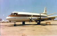 N117H @ FTW - Vickers 744 Viscount - Copeland Evangelistic Association - by Zane Adams