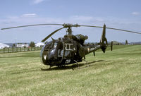 3853 @ LFQP - One of the many helicopters that can be found on the French Army base.