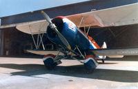 N434N @ FTW - Skywriting - Now in Udvar-Hazy Center http://www.nasm.si.edu/research/aero/aircraft/travelair.htm