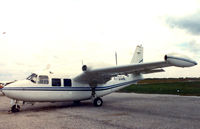 N7651E @ IKG - on the ramp at Kingsville