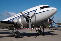 G-AMPY @ EDDH - Air Atlantic DC3 in RAF colors