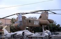 73-22012 - XCH-62A at the Army Aviation Museum. Light rain falling. - by Glenn E. Chatfield