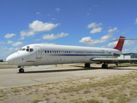 N176AS @ FTW - Former Austrian Airlines DC-9 at Meacham Field