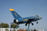 141796 @ KGJT - Grumman F11F - by Mark Pasqualino
