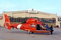 6560 @ CID - HH-65B at the Landmark FBO.  Has been upgraded to HH-65C - by Glenn E. Chatfield