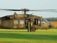 UNKNOWN @ O74 - Ohio National Guard UH-60 Blackhawk at Mount Victory, OH - by Bob Simmermon