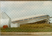N1698M @ MFE - In Customs impound yard McAllen, TX - Formet Southern Air Transport - Trans Continental Airlines - Century Airlines