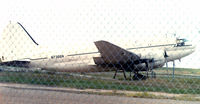 N7366N @ MFE - In Customs impound yard McAllen, TX - Former Century Airlines