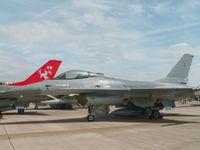 E-189 @ EGVA - General Dynamics F-16A/Esk 726 Danish AF/Fairford 2005 - by Ian Woodcock