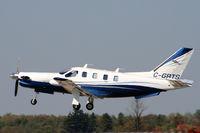 C-GBTS @ YKF - Taixing to runway 25 Waterloo Regional Airport - by Shawn Hathaway