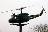 65-9747 - UH-1H mounted outside of town, Enterprise, AL - by Glenn E. Chatfield