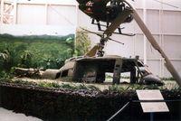 65-9974 - Huey crash scene at the Army Aviation Museum - by Glenn E. Chatfield