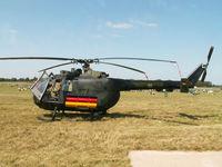 86 08 @ EGVA - MBB Bo-105P/HFWS German Army/Fairford 2005 - by Ian Woodcock