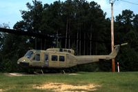 67-17219 - UH-1H in front of the VFW post at Magee, MS - by Glenn E. Chatfield