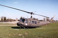 67-19519 @ DVN - UH-1H derelict at the Army National Guard - by Glenn E. Chatfield