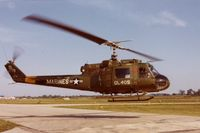 154778 @ DPA - UH-1E in for an air show.  35mm slide found at the Control Tower in 1983 - by unknown via Glenn E. Chatfield