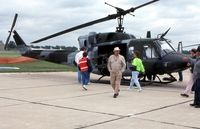 158263 @ NBU - UH-1N at the open house - by Glenn E. Chatfield