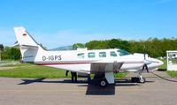 D-IGPS @ QFB - Cessna T303 - by J. Thoma