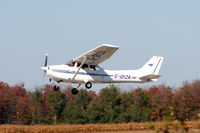 C-GYZA @ YKF - Taking off Runway 25 at Waterloo Regional Airport Ontario Canada - by Shawn Hathaway