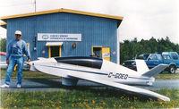 C-GDEO @ C-YSC - motorglider kfm engine - by gilles boulanger