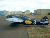 N12882 - Heath 115 Special Racer NR 12882 restored 2007 - by Tim Lunceford