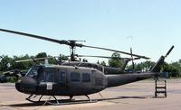 74-22476 @ BDL - UH-1H on the Army Guard ramp.  MAP delivery to Thailand in 2004 - by Glenn E. Chatfield