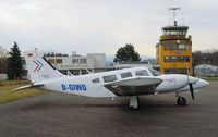 D-GIWO @ QFB - Piper PA-34-200T Seneca II - by J. Thoma