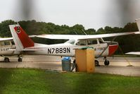 N7889N @ FME - USAF Cessna R172E at Fort Meade - by Chris England