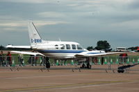 G-BWHF @ EGVA - Parked on the VIP-side of the Air Tattoo - by Henk van Capelle