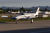 N5931M @ VNY - Steven F Danz LLC 1972 Cessna 340 N5931M from Metropolitan Oakland Int'l (KOAK) taxiing to parking. - by Dean Heald