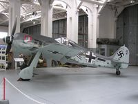 980554 @ EGSU - Focke-Wulf Fw190 exhibited at Duxford Museum - by Simon Palmer