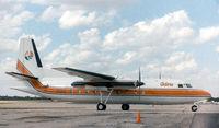 N101FG @ GKY - Fokker F27 - University of Florida paint - by Zane Adams