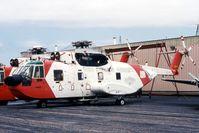 1467 @ JVL - Decommissioned HH-3F at the mechanic school ramp. - by Glenn E. Chatfield