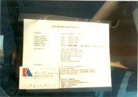 N42540 @ FTW - On the ramp at Meacham Field - Window sticker