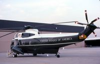159355 @ DPA - Marine One in for a visit in Geneva, IL by President Reagan - by Glenn E. Chatfield