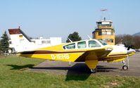D-IEHB @ QFB - Beech B55 Baron - by J. Thoma