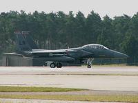91-0602 @ EGUL - McDonnell-Douglas F-15E/48 FW/RAF Lakenheath 2005 - by Ian Woodcock