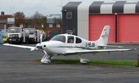 G-HEJB @ EGNC - Smart Cirrus aircraft
