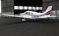 G-BCTF @ EGNV - Pa28-151