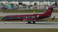 N500RD @ KFLL - Colouful Gulfstream