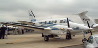 N92BK @ FRG - King Air on display