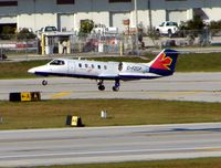 C-FZQP @ KFLL - Skyservice's Learjet 35 landing at FLL
