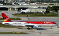 N521NA @ KFLL - Avianca's leased B757 at FLL