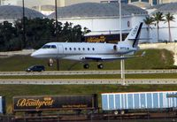 N173JM @ KFLL - Gulfstream 200 about to land at FLL