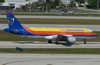 6Y-JAJ @ KFLL - Air Jamaica Airbus A320 - by Terry Fletcher