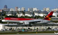 N506NA @ KFLL - Avianca leased B757 about to land at FLL