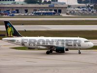 N937FR @ KFLL - The wonderful tail liveries on Frontier Airlines