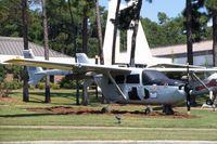 67-21368 @ HRT - O-2A at the Hurlburt Field Air Park - by Glenn E. Chatfield