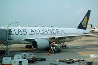 9V-SYE @ WSSS - SIA B777-300 in Star Alliance livery - by Micha Lueck